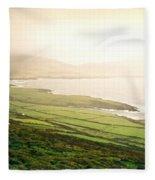 Dingle  Peninsula Shoreline 2 Fleece Blanket