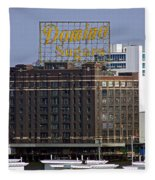 Domino Sugars Fleece Blanket