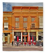 Downtown Perrysburg Fleece Blanket
