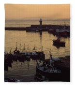 Dunmore East, Co Waterford, Ireland Fleece Blanket