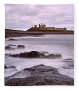 Dunstanburgh Castle Fleece Blanket