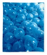 Dusty Light Bulbs Fleece Blanket