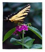 Eastern Tiger Swallowtail 3 Fleece Blanket