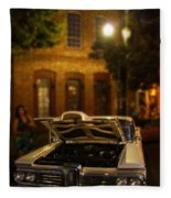 Edsel On Display Fleece Blanket