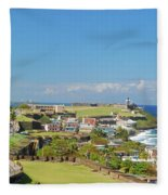 El Morro  Fleece Blanket