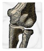 Elbow Joint Fleece Blanket