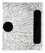 Electrostatic Field Lines Unlike Charges Fleece Blanket