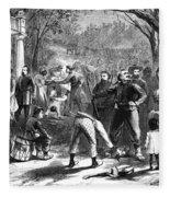 Emancipation, 1863 Fleece Blanket
