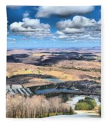 Endless Mountains Fleece Blanket