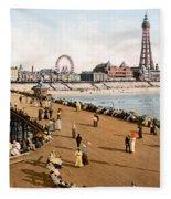 England: Blackpool, C1900 Fleece Blanket