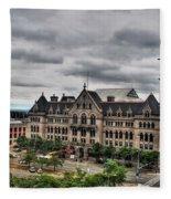 Erie Community College City Campus  Fleece Blanket