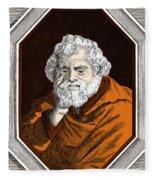 Euclid, Ancient Greek Mathematician Fleece Blanket