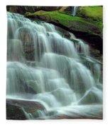 Evening At The Falls Fleece Blanket