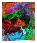 Experiment In Dementia Fleece Blanket
