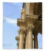 facade of Church of all Nations Jerusalem Fleece Blanket