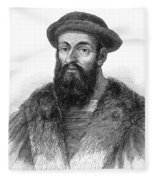 Ferdinand Magellan Fleece Blanket