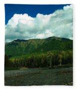 Fernie British Columbia  Fleece Blanket