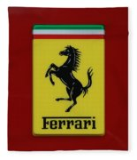 Ferrari Stallion Fleece Blanket