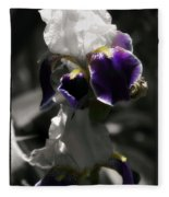 Filoli Iris Fleece Blanket