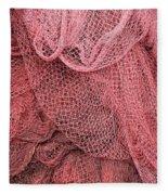 Fishing Nets Fleece Blanket