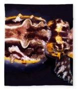 Flamboyant Cuttlefish Fleece Blanket