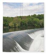 Flatrock Dam Fleece Blanket