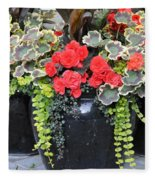Flower Pots ........ 12 Fleece Blanket