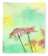 Flowers 2 Fleece Blanket