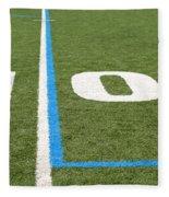Football Field Ten Fleece Blanket