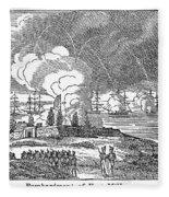 Fort Mchenry, 1814 Fleece Blanket
