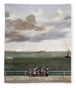Fort Sumter, 1861 Fleece Blanket