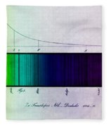 Fraunhofer Lines Fleece Blanket