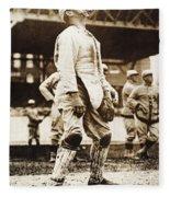 Fred Snodgrass (1887-1974) Fleece Blanket