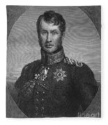 Frederick William IIi Fleece Blanket