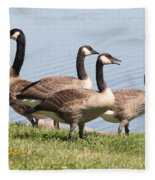 Geese Fleece Blanket