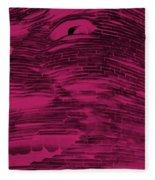 Gentle Giant In Hot Pink Fleece Blanket