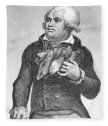 Georges Danton (1759-1794) Fleece Blanket