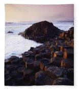 Giants Causeway, Co Antrim, Ireland Fleece Blanket