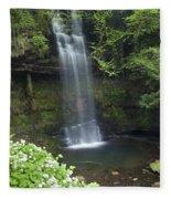 Glencar Waterfall, Co Sligo, Ireland Fleece Blanket