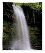 Glencar Waterfall, County Leitrim Fleece Blanket