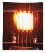 Glowing Filament 4 Of 4 Fleece Blanket