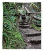 Going Up Fleece Blanket