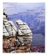 Grand Canyon 3 Fleece Blanket