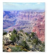 Grand Canyon 8 Fleece Blanket