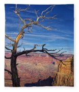 Grand Canyon At Sunset Fleece Blanket