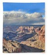 Grand Canyon Overlook Fleece Blanket