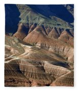Grand Canyon Rock Formations IIi Fleece Blanket