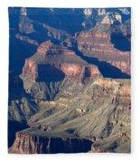 Grand Canyon Shadows Fleece Blanket