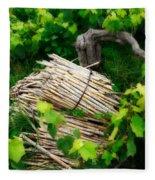 Grape Vines  Fleece Blanket