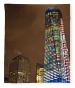 Ground Zero Freedom Tower Fleece Blanket